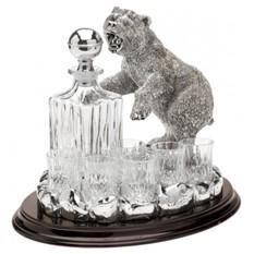 Набор для водки Медведь