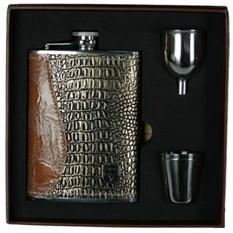 Подарочный набор VIRON с фляжкой, 18х18х5 см