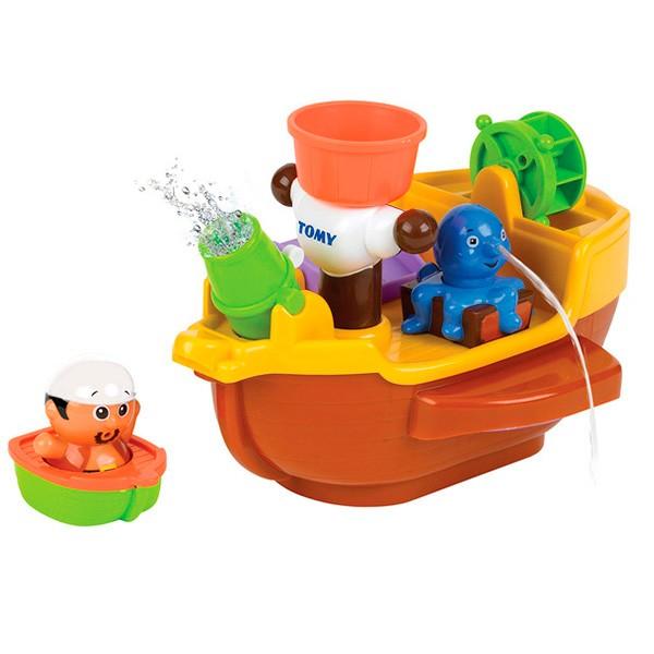 Игрушки для ванны TOMY BathToys Пиратский корабль