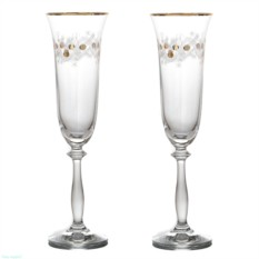 Набор бокалов для шампанского «Рождественский»