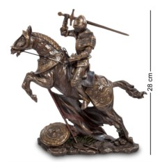 Статуэтка Рыцарь на коне , высота 28 см