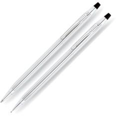 Серый набор Cross Century classic: ручка и карандаш 0.7мм