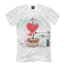 Мужская футболка Любовь и забота