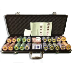 Набор для покера Crown на 500 фишек Premium