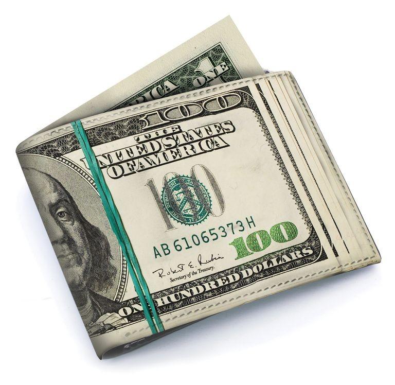Кошелек «Доллары» Loaded