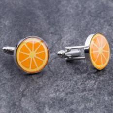 Запонки Апельсин