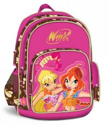 Рюкзак для школы и отдыха Brown Western