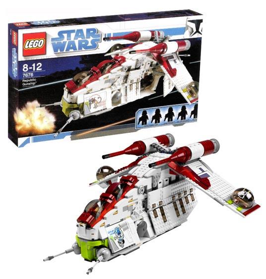 Набор Lego Star Wars Атакующий корабль