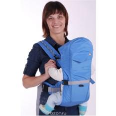 Голубой рюкзак-кенгуру BabyActive Simple