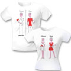 Свадебные футболки До свадьбы / после свадьбы
