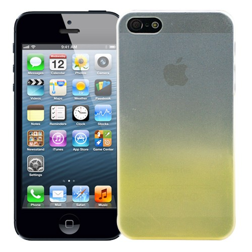 Чехол для iPhone 5/5S Dip-Dye Yellow