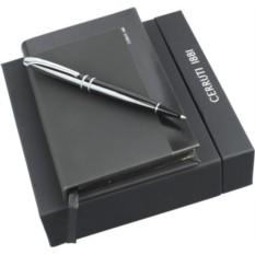Набор Cerruti: блокнот, ручка шариковая