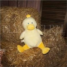 Мягкая именная игрушка Цыпленок с вышивкой