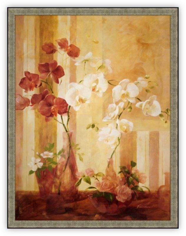 Постер Цветки орхидеи (Фабриса де Вильнев)