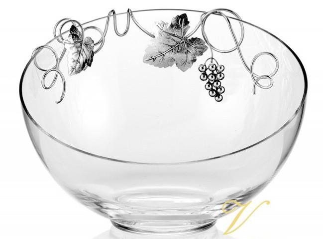 Хрустальная ваза для фруктов или конфет Лоза Дольчетто