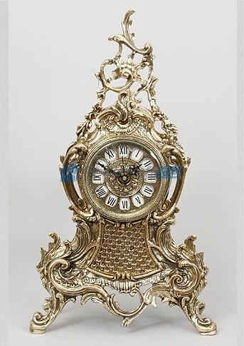 Часы из бронзы Луис, цвет золотой