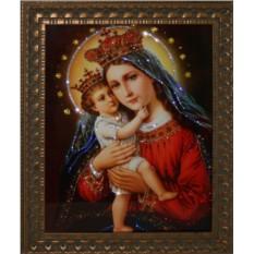 Картина с кристаллами Сваровски Мадонна