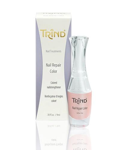 Укрепитель ногтей розовый Trind, розовый перламутр