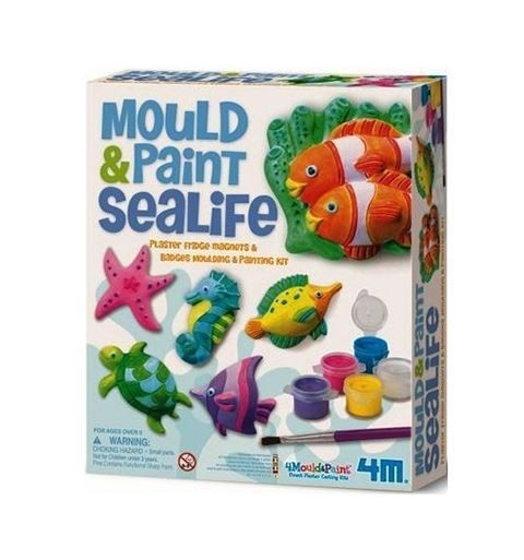 Детский игровой набор Морские животные на магнитах