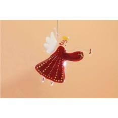 Интерьерная подвеска «Ангел Рождества»