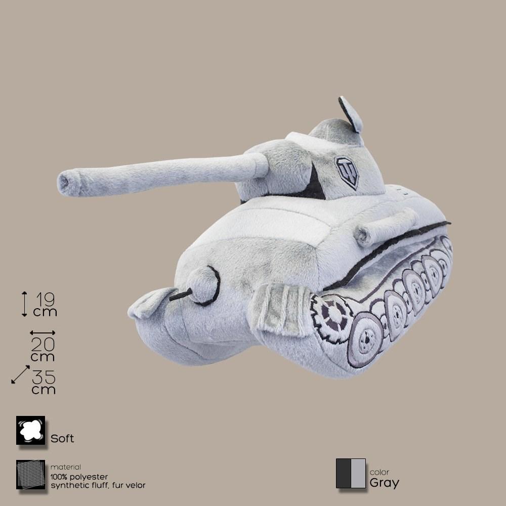 Плюшевая игрушка Танк Пантера