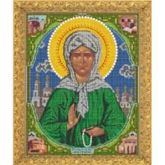 Набор для вышивания бисером Святая Матрона Московская