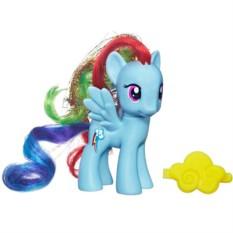 Фигурка My Little Pony Рейнбоу Дэш с аксессуаром