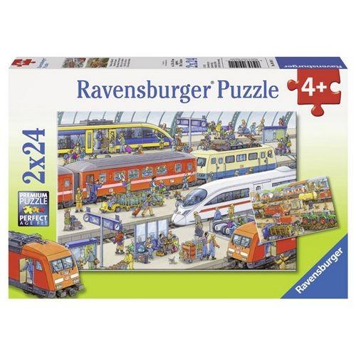 Пазл На вокзале от Ravensburger