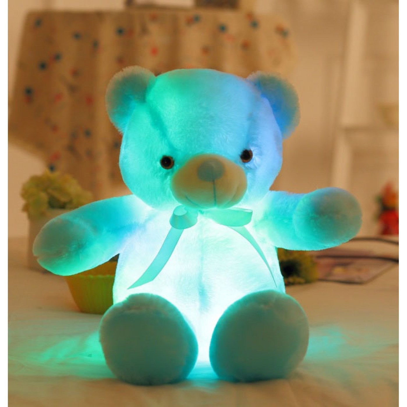 Светящийся плюшевый медведь Teddy XL