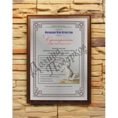 Подарочный диплом Сертификат на право быть всегда на коне