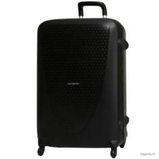 Черный матовый чемодан Samsonite termo young