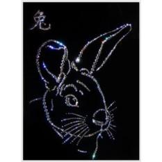 Картина Swarovski Символ года Кролик