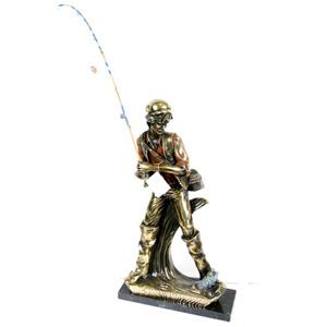 Бронзовая статуэтка «Рыбак»