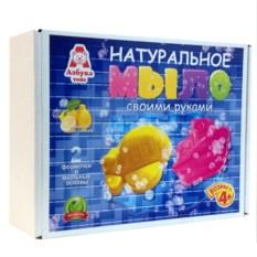 Детский набор для изготовления мыла «Кораблик и Самолет»