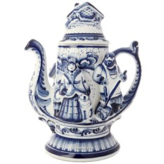 Заварочный керамический чайник Мороз