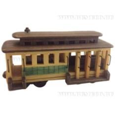 Декоративная фигурка Трамвай
