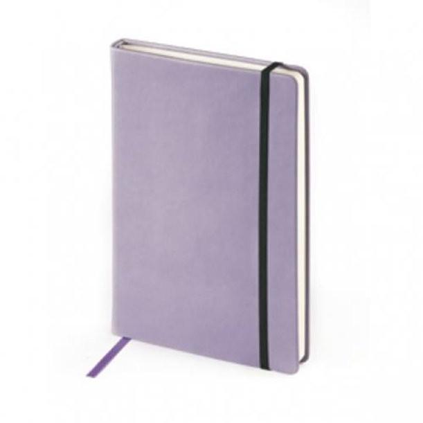 Фиолетовый недатированный ежедневник Megapolis Velvet А5