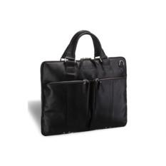 Деловая черная сумка Slim-формата Berkeley