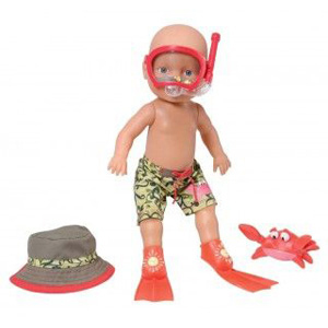 Кукла «Умею плыть под водой»