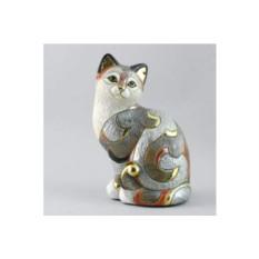 Керамическая статуэтка Кошка калико