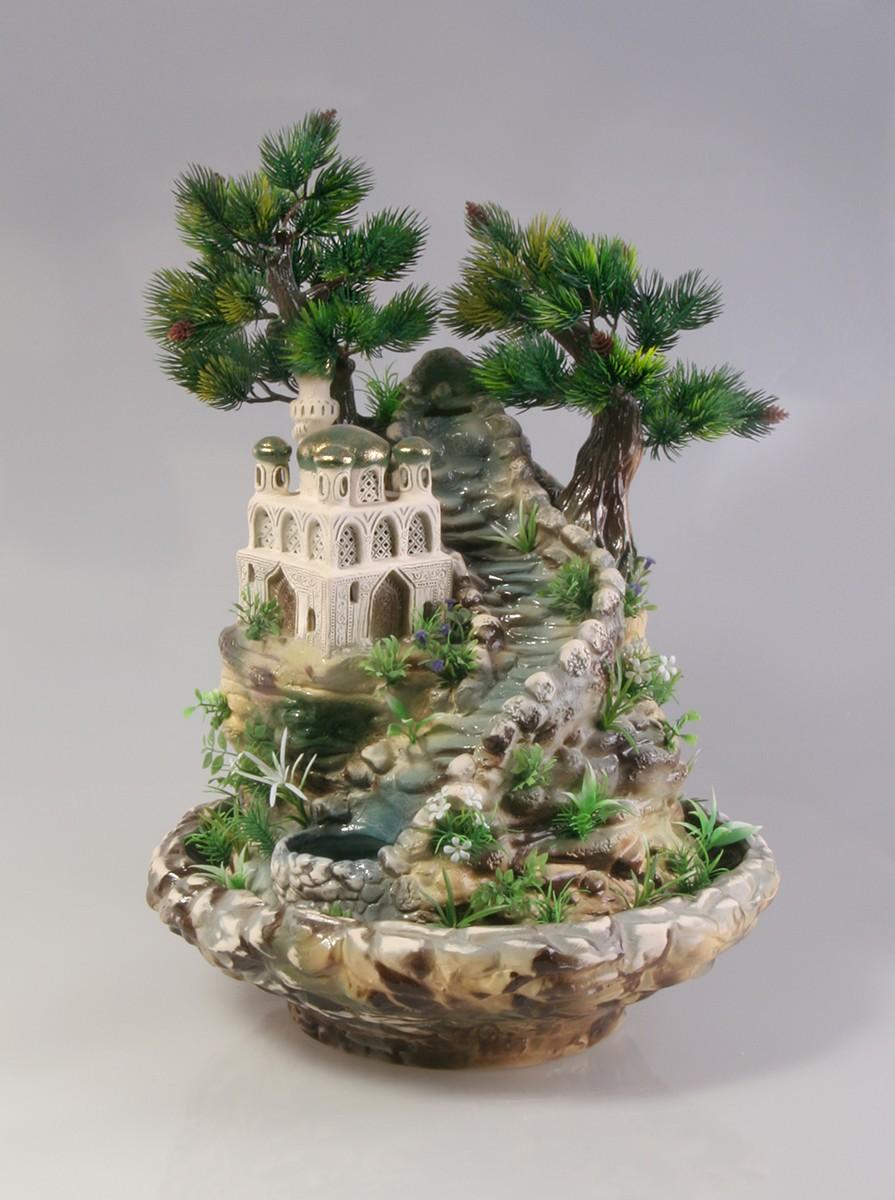 Настольный фонтан «Восточная Святыня»