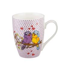 Кружка Влюбленные попугайчики
