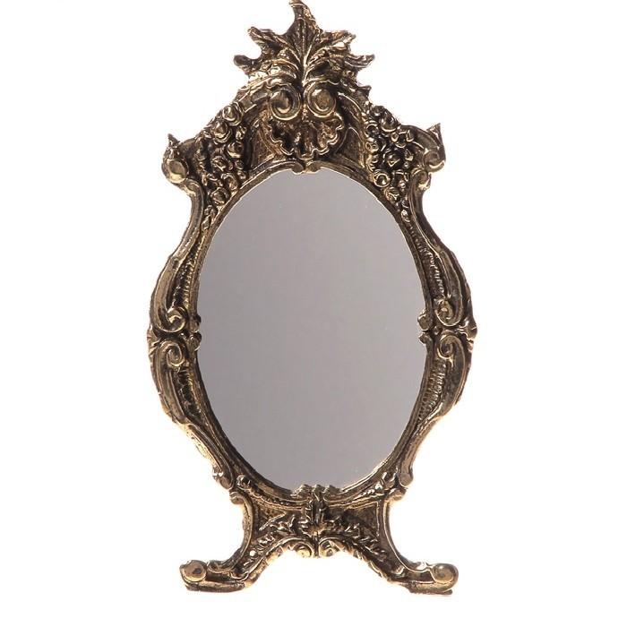 Настольное зеркало на подставке Антик