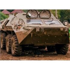 Миссия Бронетехника: солдаты (БТР, 2 участника)