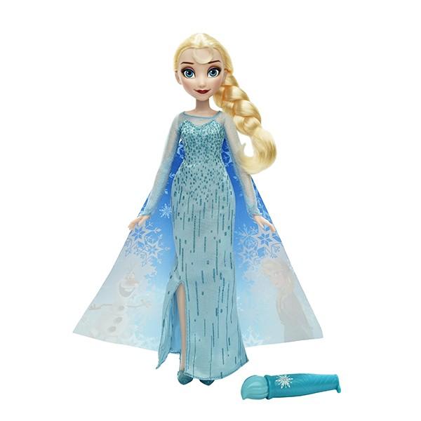 Кукла Disney Princess Эльза в наряде с проявляющ. рисунком