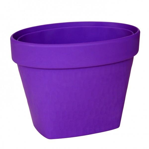 Корзина-органайзер, гибкая Takuzen, фиолетовая