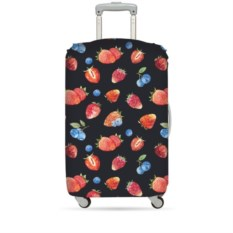 Чехол для чемодана Loqi jucy strawberry М
