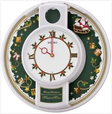 настенные часы SEIKO QHM003W