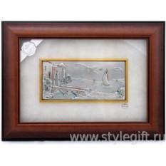 Картина Замок на берегу
