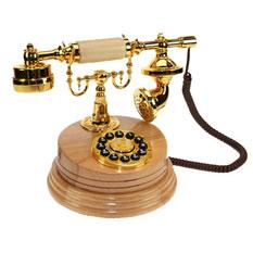 Ретро телефон декоративный Реймс